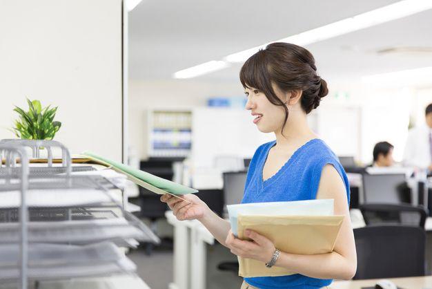 郵便物の整理
