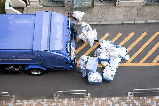ゴミ収集の仕事