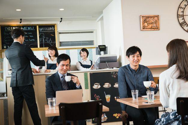 いろんなタイプの喫茶店