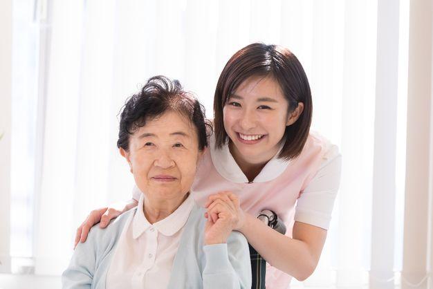 介護職の女性