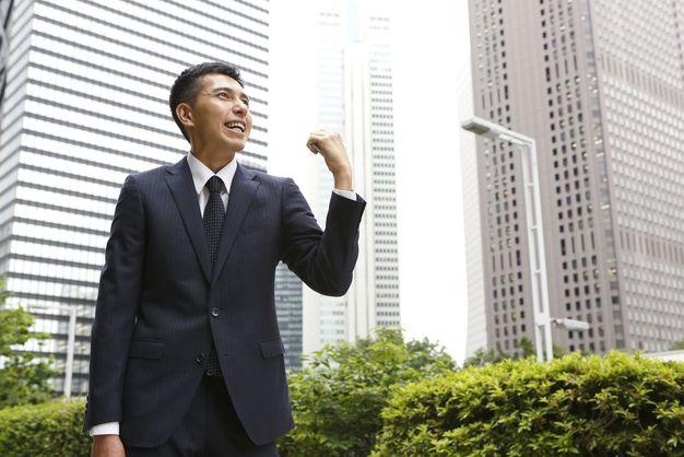 長期的視点でのキャリアパスを明確にした男性